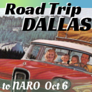 Road Trip!  Dallas NARO Oct 2016