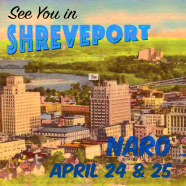See you in Shreveport for LA NARO '17!