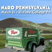 Pops is headed to NARO PA!